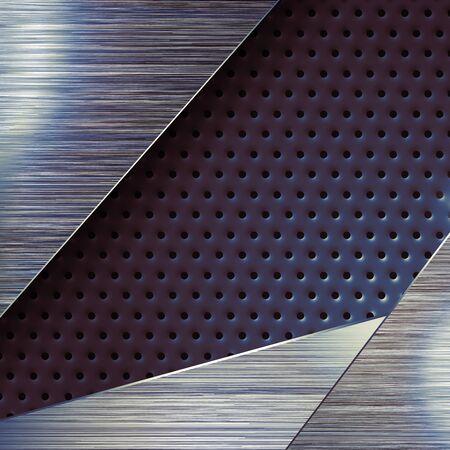 surface: Modern mat metal surface background.