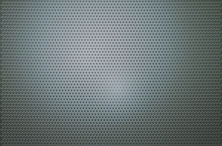 mesh: Perforated metal mesh strap background. Stock Photo