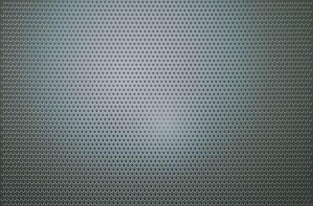 Perforierte Metallgitterband Hintergrund. Standard-Bild