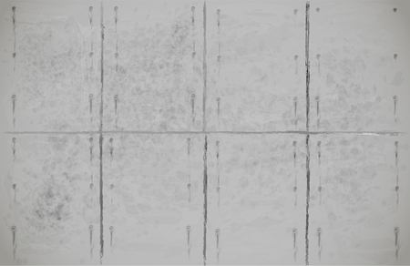architectural feature: Concrete slab vector gray neutral illustration suitable for construction or industrial background