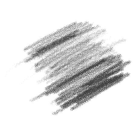 Pencil strokes vector illustration Çizim