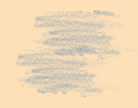 garabatos: Simple easy vector grunge texture, reminiscent of pencil strokes