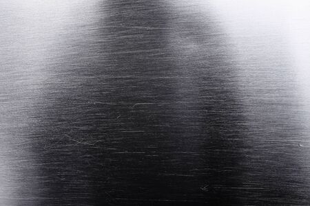 titanium: Shiny titanium sheet, textured background. Stock Photo