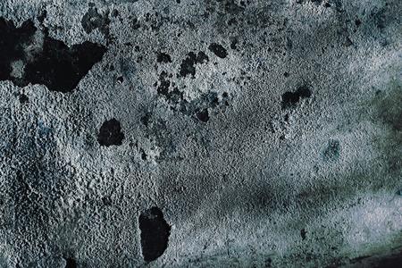 whitewash: Textured wall covered with cracked whitewash. Stock Photo