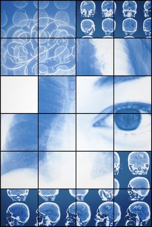 Set of medical examinations and tests. 版權商用圖片
