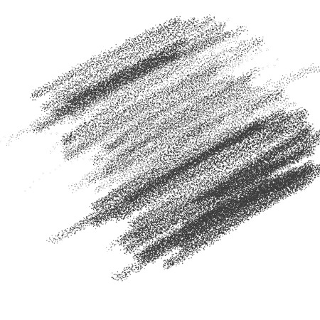 Pencil strokes illustration on the white paper. 版權商用圖片