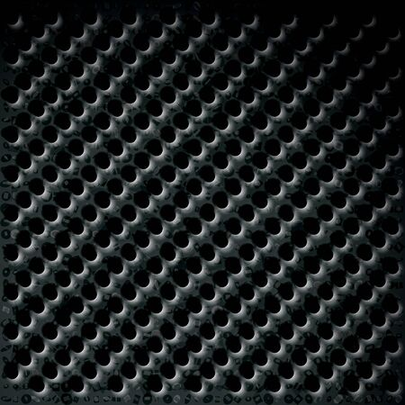 Perforated plate with texture for the frame or registration of web background