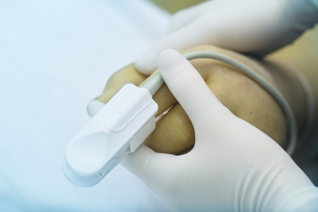 Care for critically ill patients 版權商用圖片