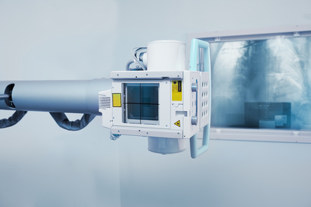 X-ray machine in the research laboratory