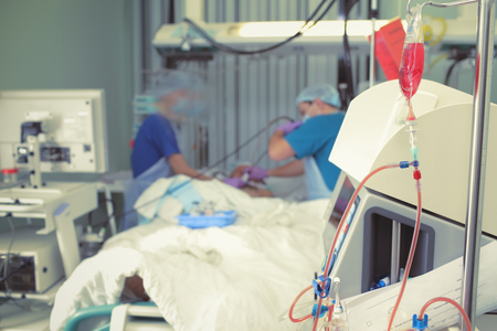 General nursing in the intensive care unit.