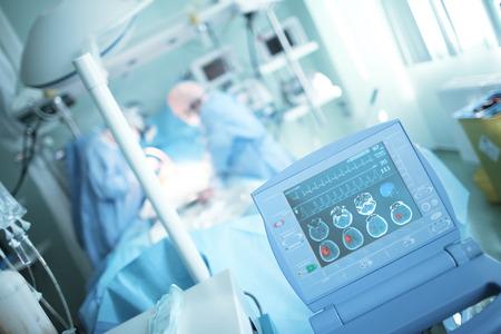 Scanning of brain damage in the ICU.