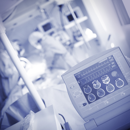appliances: Monitoring of patient`s condition in the operating room.