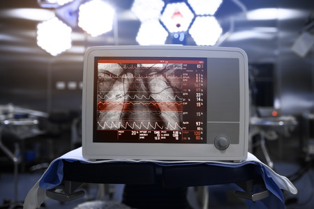 Innovative technical equipment in medical science.