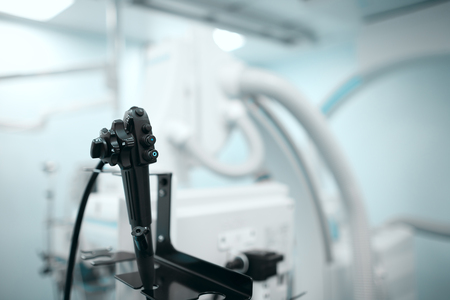 Endoscopy room in the hospital.