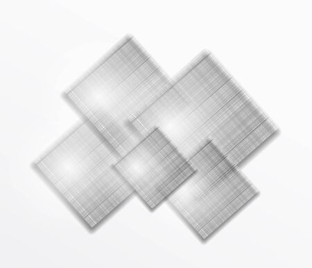 Abstract graphic squares 向量圖像