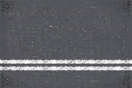Asphalt  with road marking as textured background.