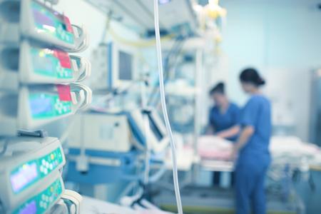 Working nurses in the CCU.