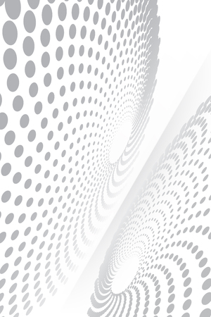 Abstract spiral-like shape moving on a curve plane vector background pattern for your ideas Illustration