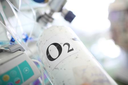 Botella de oxígeno portátil para uso médico
