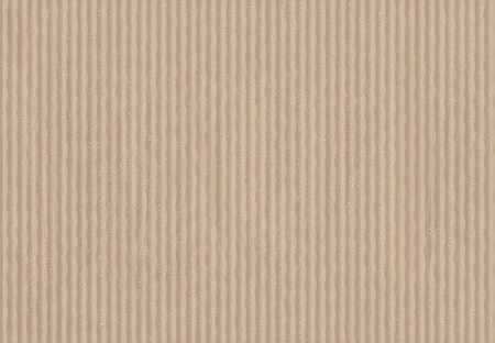Texture de vieux carton brun. Illustration vectorielle