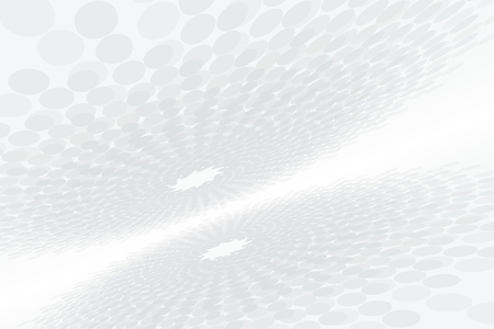 Concentric background of accelerating endless digital space