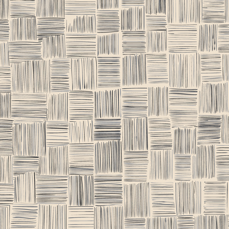 Hand-drawn patchwork background of free strokes