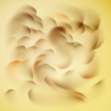 Waves or curls on a beige background abstract background. Stok Fotoğraf