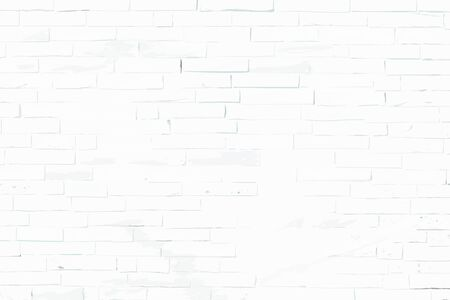 Old brick wall of a stone village house in vector format