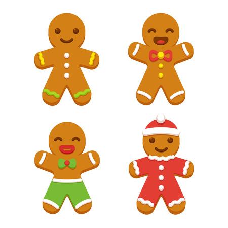 Imagenes De Galletas De Navidad Animadas.Feliz El Hombre Galleta De Jengibre De Dibujos Animados