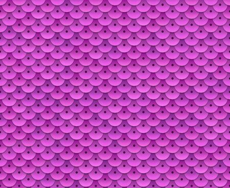 tileable: Pink sequins seamless pattern. Tileable vector background.