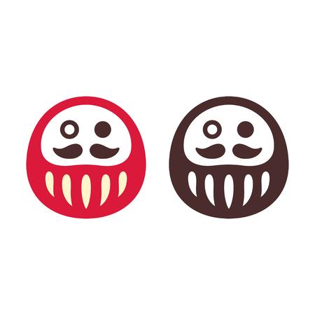 일본 다 루마 인형