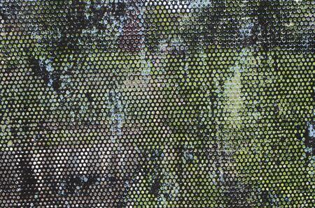 heavy effect: metal mesh elements paint