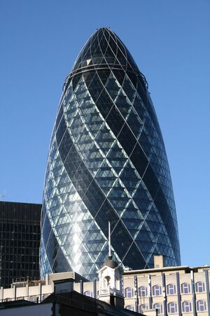 gherkin: The famous Gherkin in London