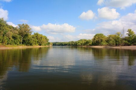 mississippi river: Mississippi River Stock Photo