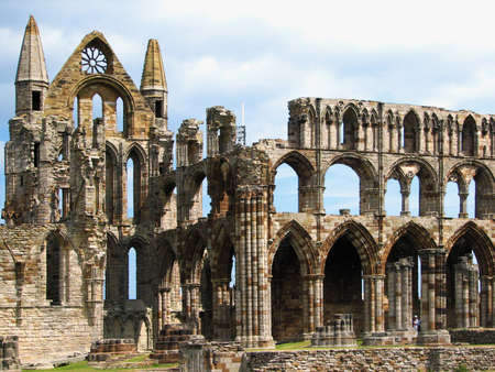 Whitby Abbey, North Yorkshire photo