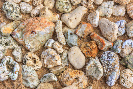 pepples: Rocks on the Beach