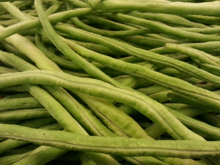 long bean: Close up of long bean vegetable