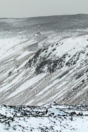 grindavik: Volcanic and lava field terrain around Grindavik in south west Iceland.