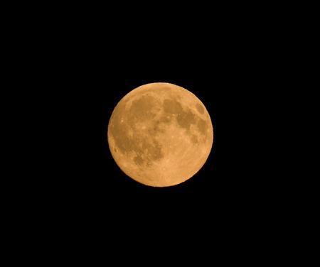 sturgeon: Full moon in August, 2016, also known as the Grain Moon or Sturgeon Moon.