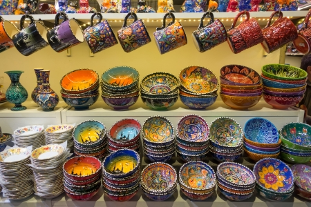 Traditional Turkish Souvenirs Stock Photo