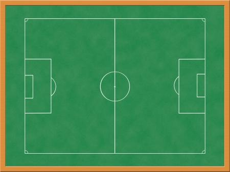 tactic: Soccer Field Illustration