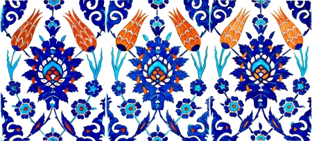 Photo of Turkish Tile Stock Photo