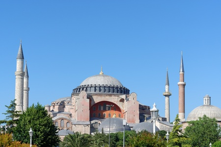Hagia Sophia in Istanbul, Turkey Stock Photo - 18032952