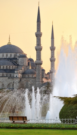 Clue Mosque Istanbul Turkey