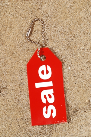 sale tag for summer