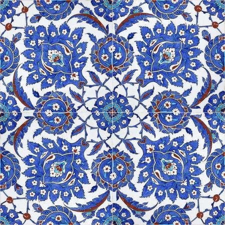 Türkische Fliesen Standard-Bild