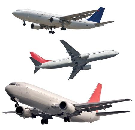 Isolated passenger planes