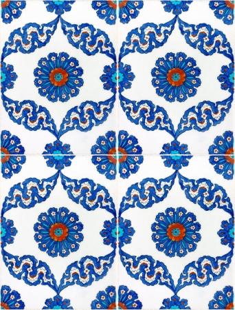 ottoman empire: Photo of Turkish Tiles in Istanbul, Turkey