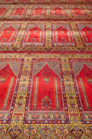 Prayer rug in a mosque