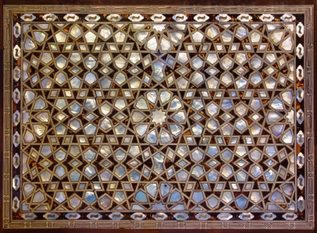 mother of pearl: Mother of Pearl Mosaic from Istanbul Turkey